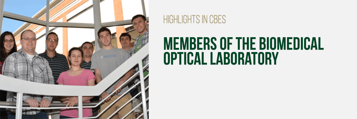 Members of the Biomedical Optical Laboratory