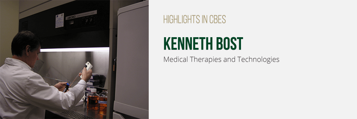 Kenneth Bost, Medical Therapies and Technologies